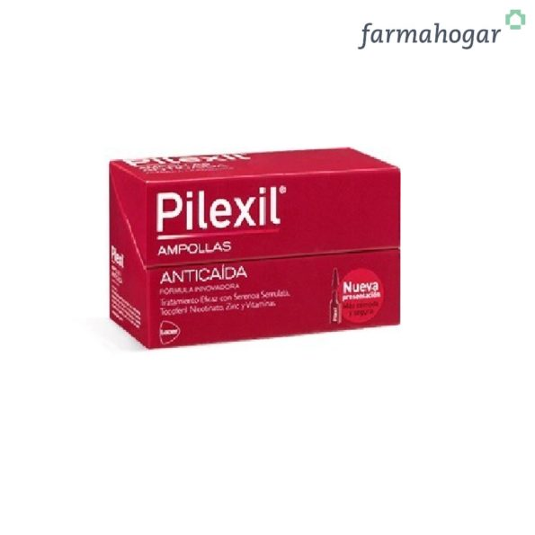 Pilexil – Forte Ampollas Anticaída 15 U 5 ml 208496
