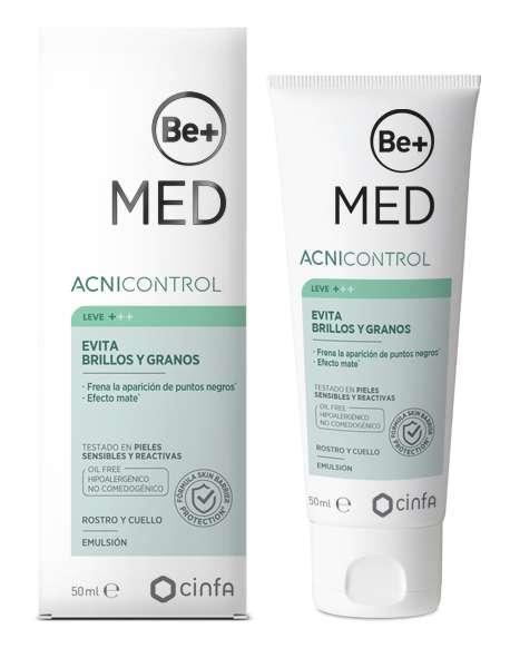 Be+ Acnicontrol emulsión evita brillos y granos 50 ml 175719