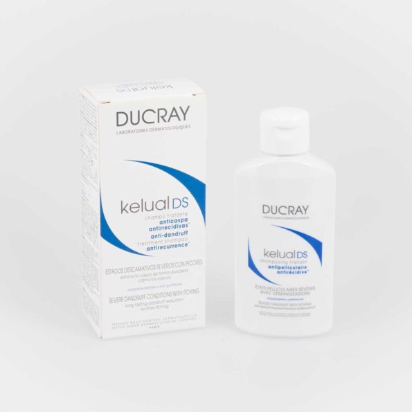 Ducray champú Kelual DS 100 ml 209510
