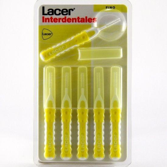 Lacer interdental recto fino 6 unidades 150528