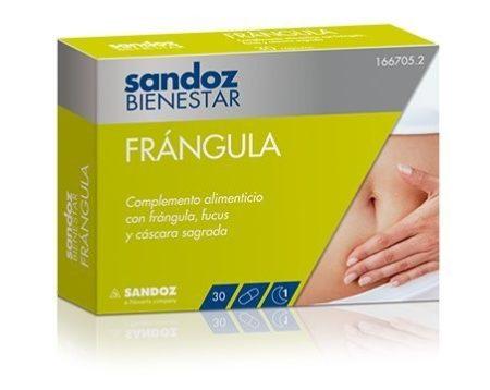 Sandoz bienestar Frángula 30 cápsulas 166705