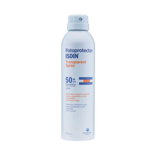 ISDIN Fotoprotector 50+ Spray Transparente 200 ML 155931