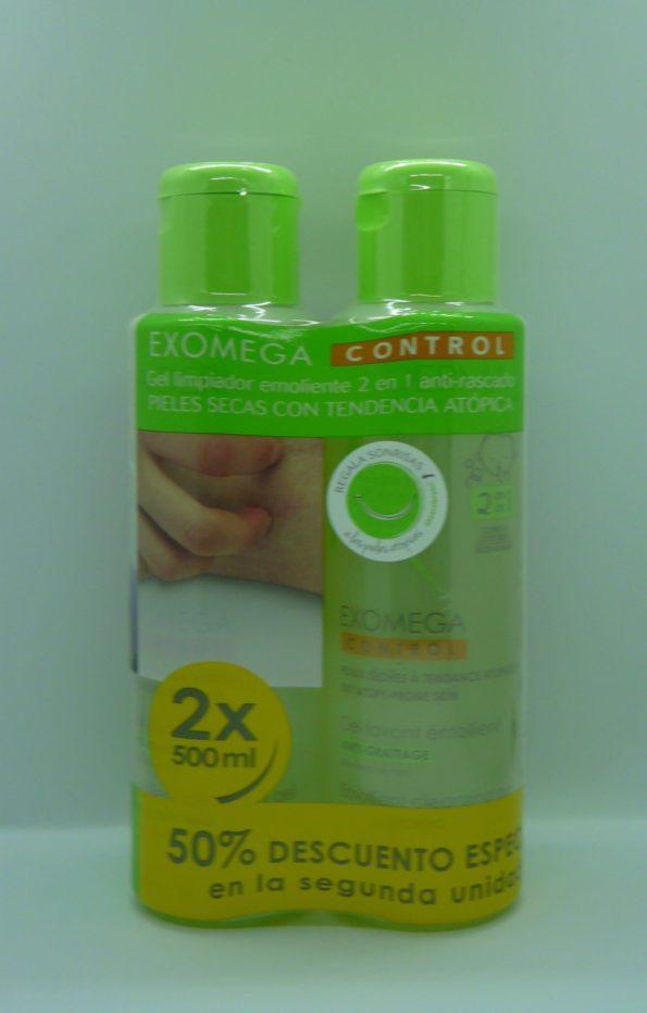 Exomega Control Gel 2 en 1 Pack 5X 500 ml 187834