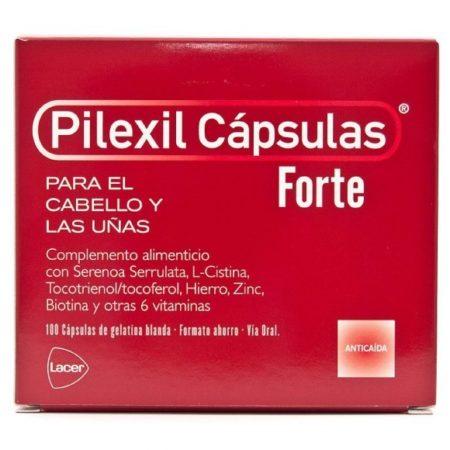 Pilexil Cápsulas forte 100 cápsulas 166904