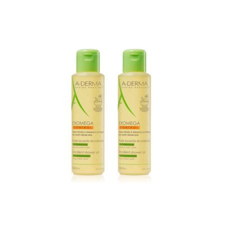 A-Derma Exomega control Aceite limpiador emoliente 500 ml 2 envases 174835