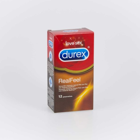 Durex real feel preservativo sin latex 12 ud 172897