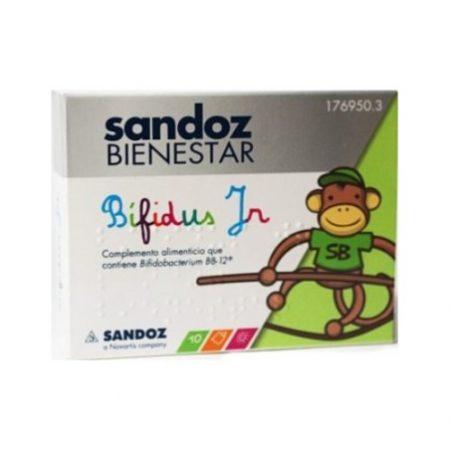 Sandoz bienestar Bifidus junior 10 sobres monodosis 176950