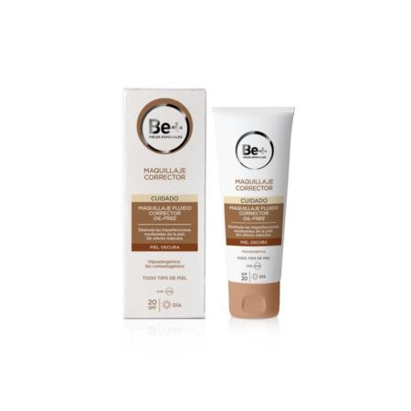 Be+ maquillaje fluido corrector p. Oscura spf20 oil free 178476