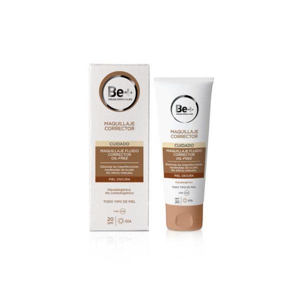 Be+ maquillaje fluido corrector p. Oscura spf20 oil free 178476