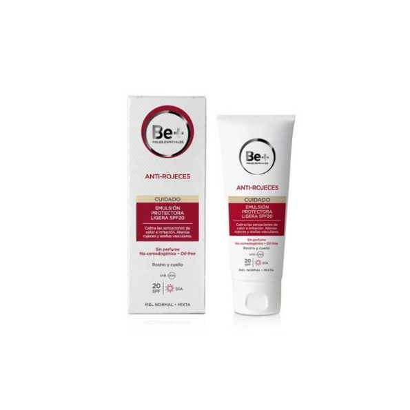 Be+ anti-rojeces emulsión protectora ligera SPF20 piel normal/mixta 50 ml 176835