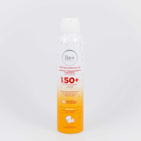 Be+ Aerosol Corporal SPF50+ fotoprotector 200 ml 173087