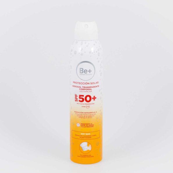 Be+ Aerosol Corporal SPF50+ fotoprotector 200 ml 173087