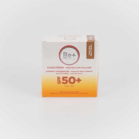 Be+ Maquillaje Compacto SPF50+ piel oscura protección solar. Polvera 10 g 169831