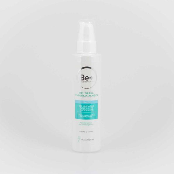 Be+ Gel limpiador purificante matificante piel grasa tendencia acnéica 153898