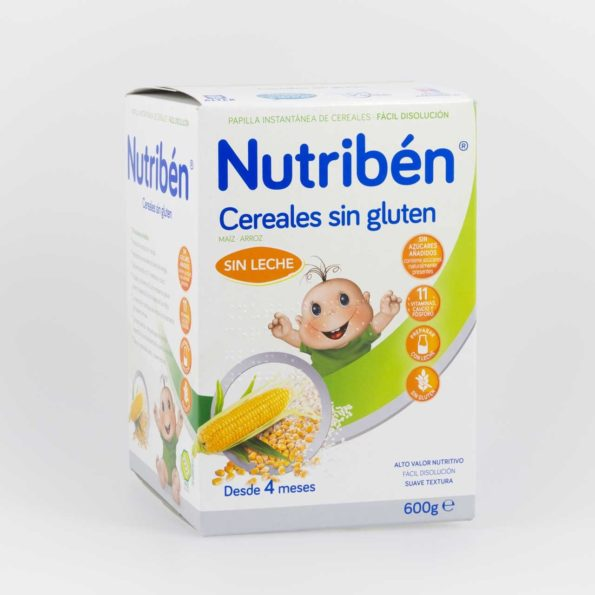 Nutriben 8 cereales sin gluten 600 g 209965