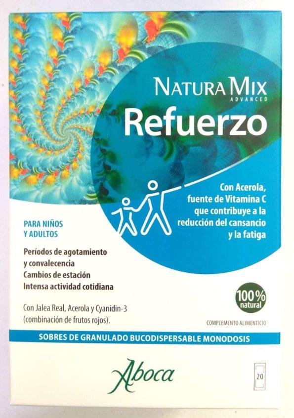 Natura mix Refuerzo 20 sobres bucodispersables Aboca 176039
