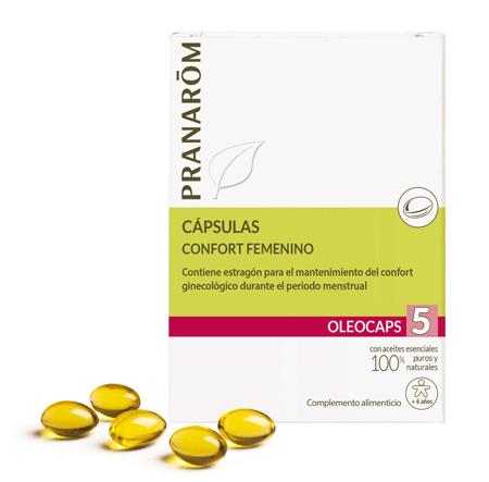 Oleocaps 5 confort femenino Pranarom 530609