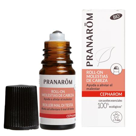 Roll-on molestias de cabeza 5ml bio Pranarom 177