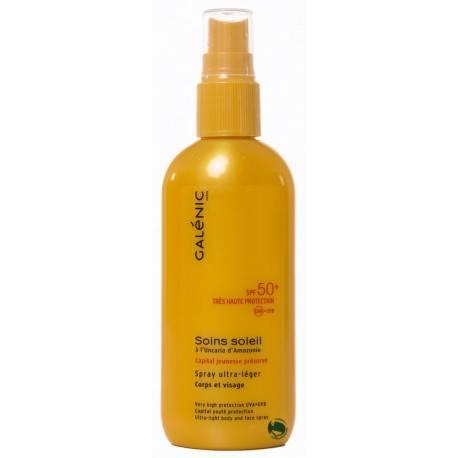 Galénic soins soleil antiedad spf50 spray cara y cuerpo 157359