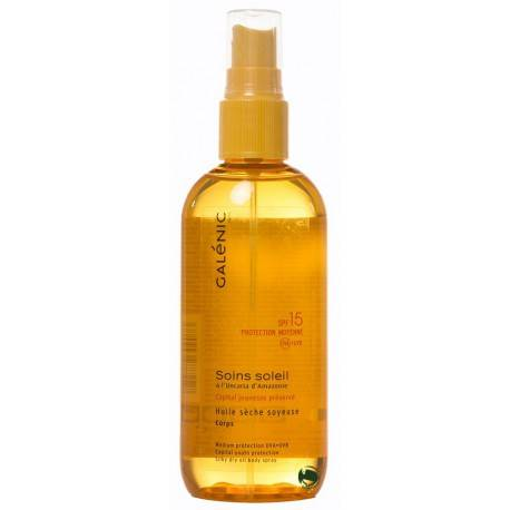 Galénic soins soleil aceite seco sedosos spf15 150ml 249111