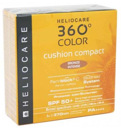 HELIOCARE 360º COLOR CUSHION COMPACT SPF 50+ BRONCE INTENSE 192198