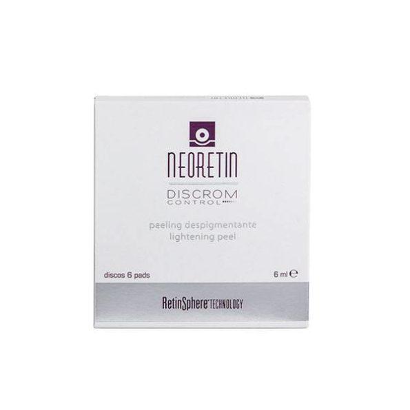 Neoretin discrom control peeling despigmentante 6 discos 192767