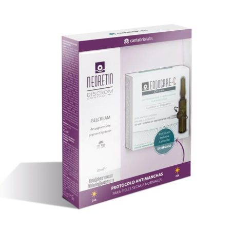 Neoretin discrom control gelcream 40ml + endocare c oil free 7ampollas 216