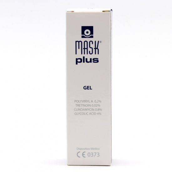 Mask plus gel 30ml 165595