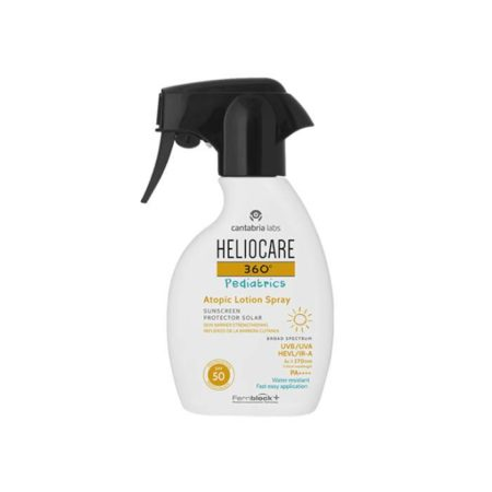 Heliocare 360º spf50+ pediatrics atopic lotion pistola 250ml 193017