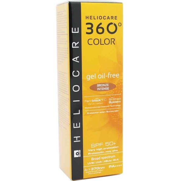 Heliocare 360 gel oil free bronze intense spf 50+ 50ml 192199