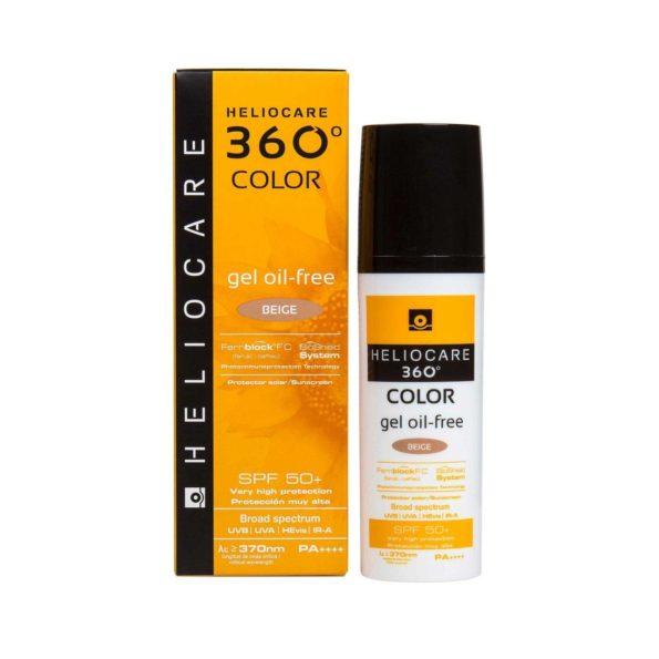 Heliocare 360º color gel oil free beige 50ml 187359
