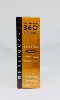 Heliocare 360 color gel oil free bronze 50ml 187358