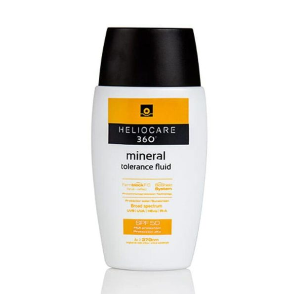 Heliocare 360º mineral tolerance fluid spf50 50ml 184760