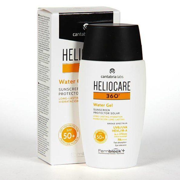 Heliocare 360º water gel spf 50+ 50ml 193015
