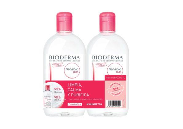 Duplo Sensibio H2O agua micelar bioderma 1L 150
