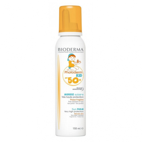 Photoderm kid spf 50+ mousse niños 150ml bioderma 178739