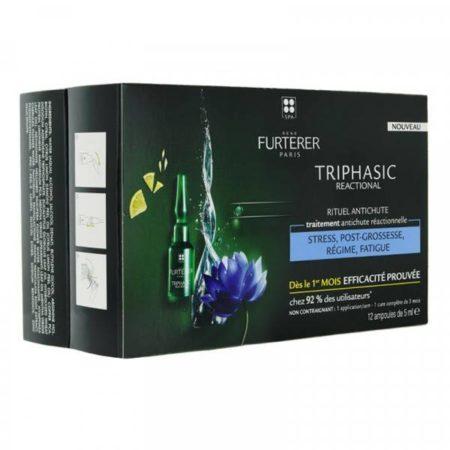 Rene furterer Triphasic reaccional 12 ampollas 239434