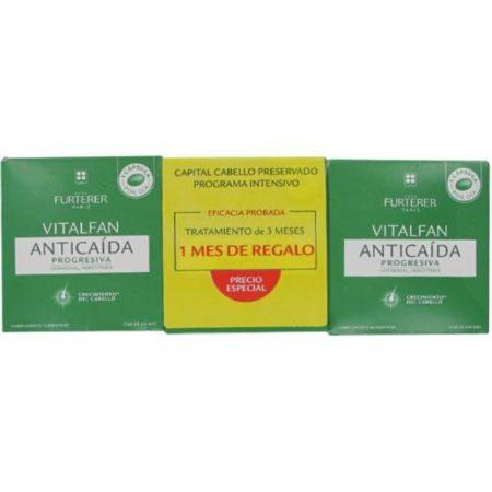 vitalfan anticaida progresiva rene furterer 60 caps + 30 gratis 177577