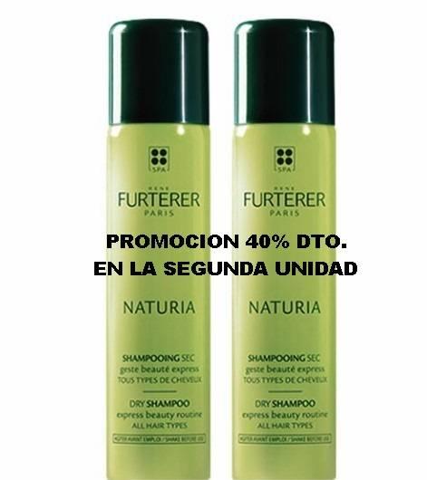 pack promocion Naturia champú seco rene furterer 150 ml + 150 ml 224678