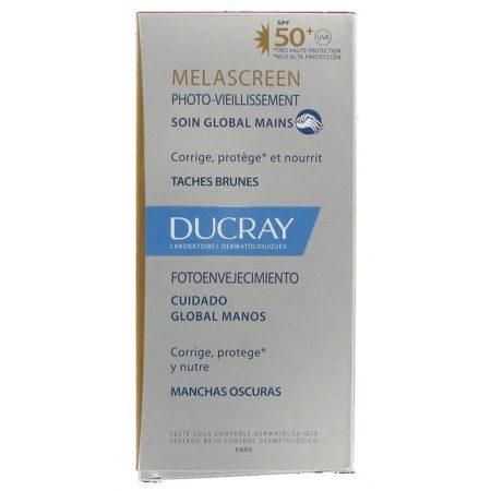 Melascreen fotoenvejecimiento cuidado global manos spf 50+ 50ml ducray 177213