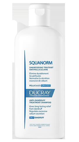 Squanorm champú caspa grasa 200 ml ducray 163428