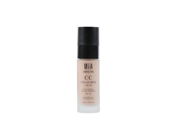 CC cream maquillaje oscuro 30 ml mia 445