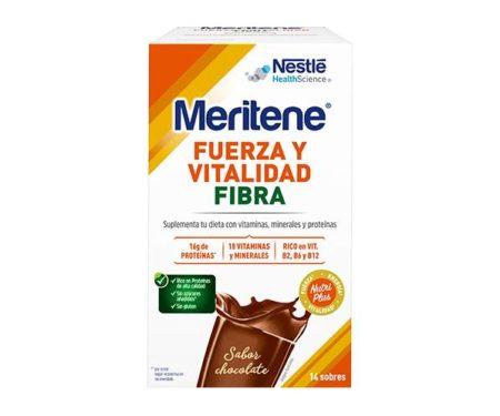 Meritene fibra chocolate 14 sobre 30g 325407