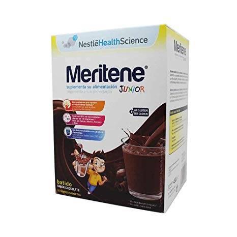 Meritene junior chocolate 15 sobres 30g 354506
