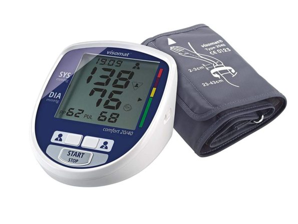 Visomat tensiometro comfort 20/40 adaptador de corriente gratis 174118