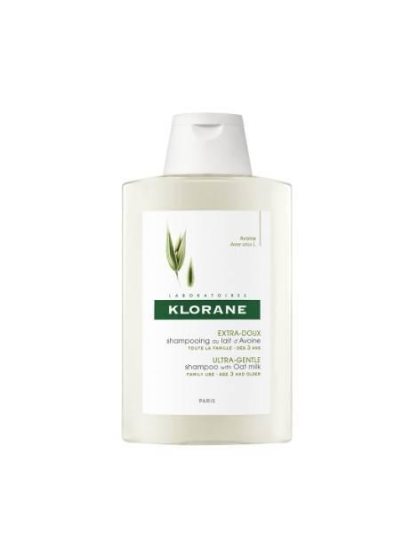 Klorane champú a la leche de avena 400 ml 236646