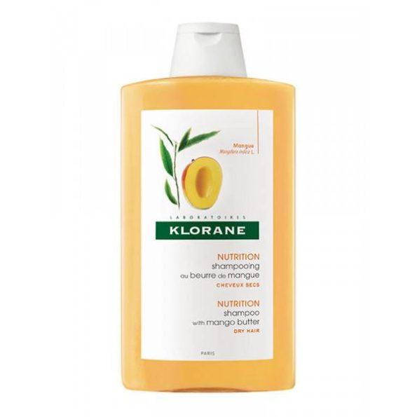 Klorane champú a la manteca de mango 400 ml 343037