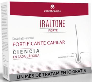 Duplo Iraltone forte 60 capsulas + 60 capsulas (1 mes de tratamiento gratis) 274