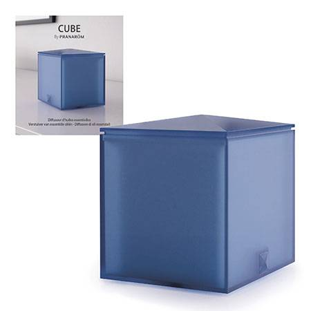Difusor Cube azul pranarom 478
