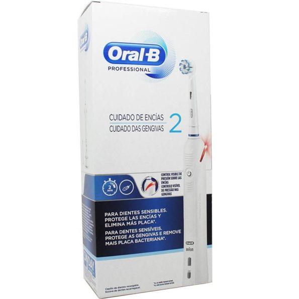 Cepillo recargable Oral-b cuidado de encías pro 2 194234